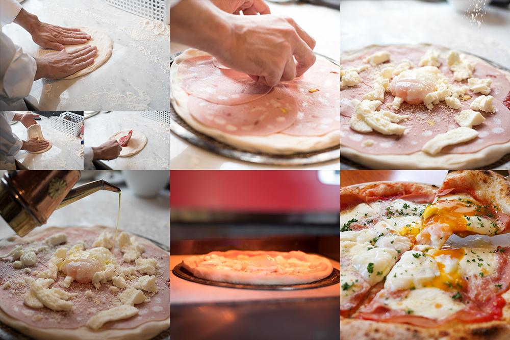 ジラソーレのピッツァ